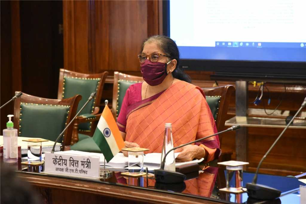 Finance Minister reviews Pradhan Mantri Fasal Bima Yojana