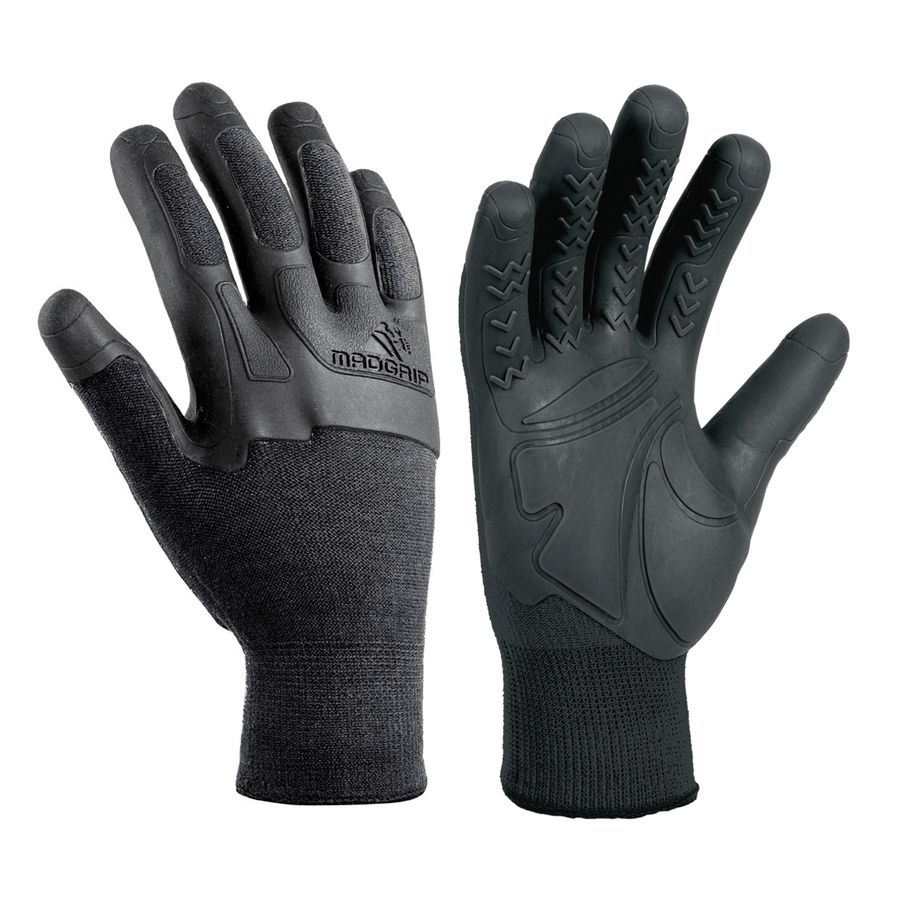 Lowes Work Gloves >> Mad Grip Pro Palm Knuckler Medium Unisex Rubber High Performance