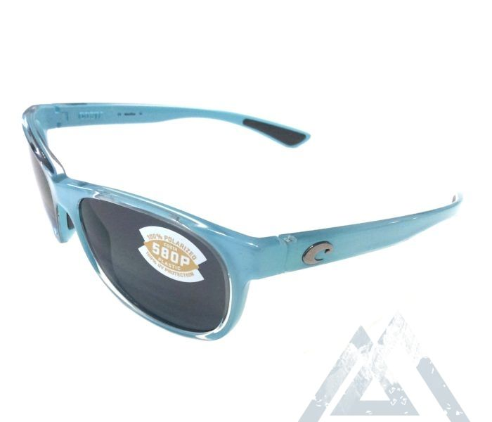 beeea1135d7e Costa Del Mar Prop Sunglasses - Ocean Blue Frame - Polarized Gray ...