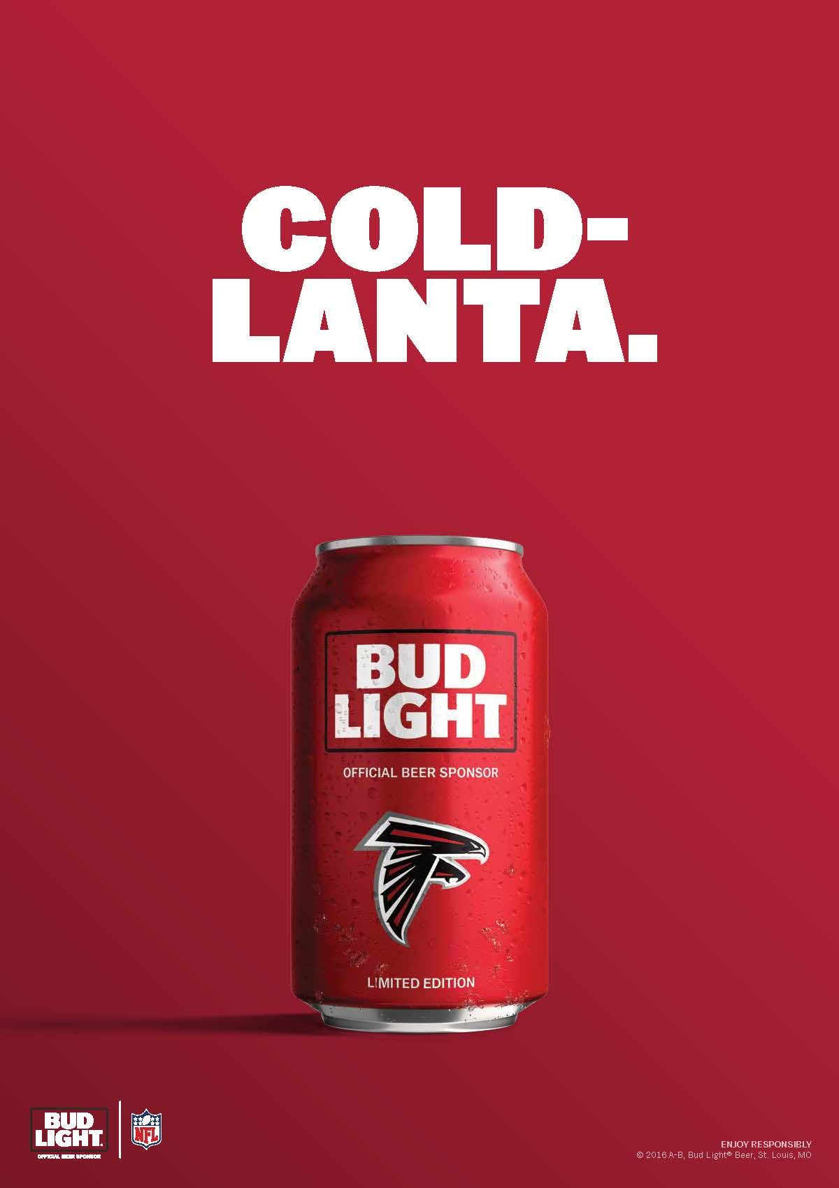 The Falcons May Play In Hotlanta But That Doesn T Mean Their Drinks Should Feel Like It Georgia Dawgs Falcons Atlanta Falcons