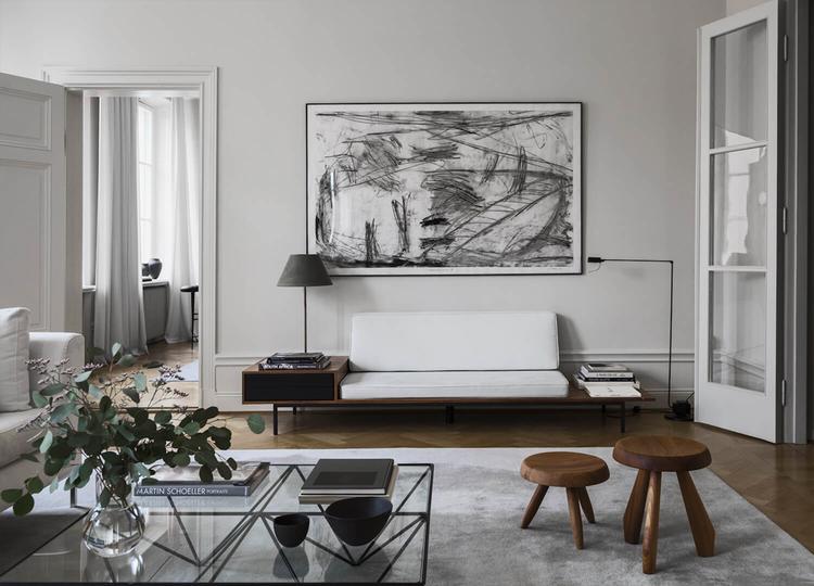 Minimalism modern interior design house minimalist magazine also the home of louise liljencrantz livingroom pinterest rh in