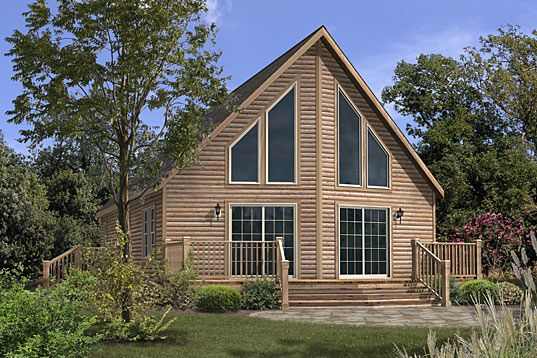 New york modular home floor plans titan 745 cape chalet for Chalet manufactured homes