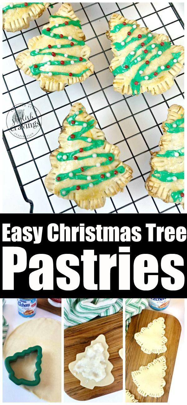 Photo of These easy Christmas tree pastries are a fun way to start your day and get the k…