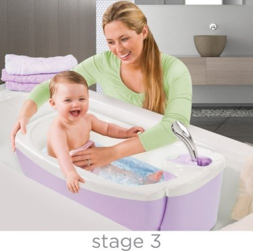 Baby Bath Seat For Sink Tubs Newborns Tub With Shower And Sling