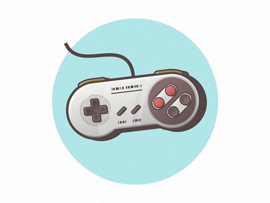 Snes Nintendo Varun Art Design