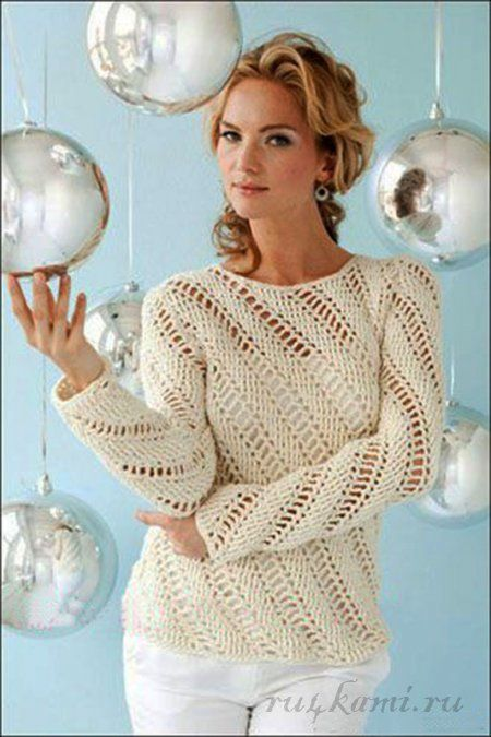 Au crochet un pull avec des diagonales - La Grenouille Tricote #cardigans