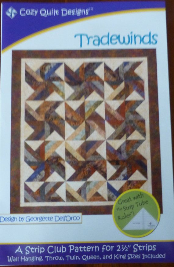 Trade Winds Tradewinds Quilt Pattern Jelly Roll 2 5 Inch