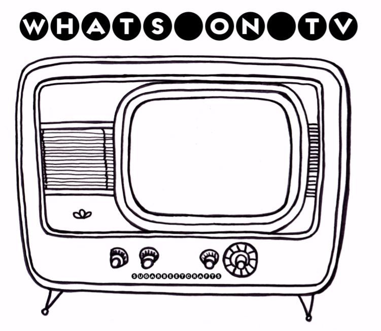 Day 28 Whats On Tv Big Hugs Tv Free Coloring Pages
