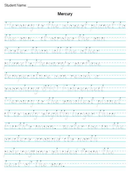 Beautiful Dnealian Handwriting Practice Worksheets At