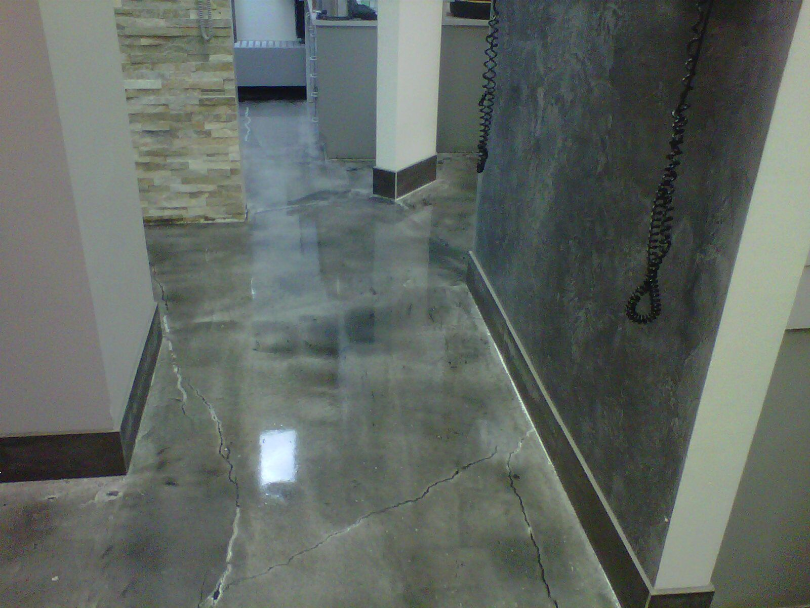 Epoxy Garage Floor Toronto Dental Office At Yonge St And Finch Ave Toronto New Metallic