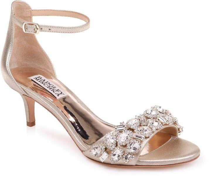 f6a85eebc57c Badgley Mischka Collection Lara Crystal Embellished Sandal
