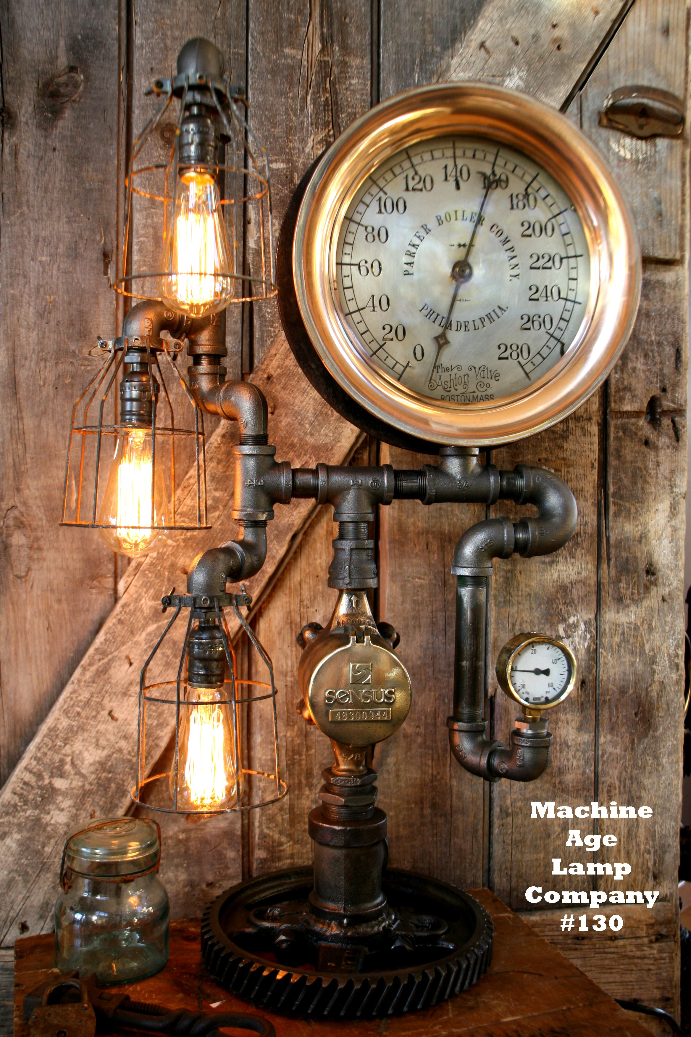Industrial lamps for sale - Steampunk Art C Utare Google Steampunk Clockindustrial Lampsmachine