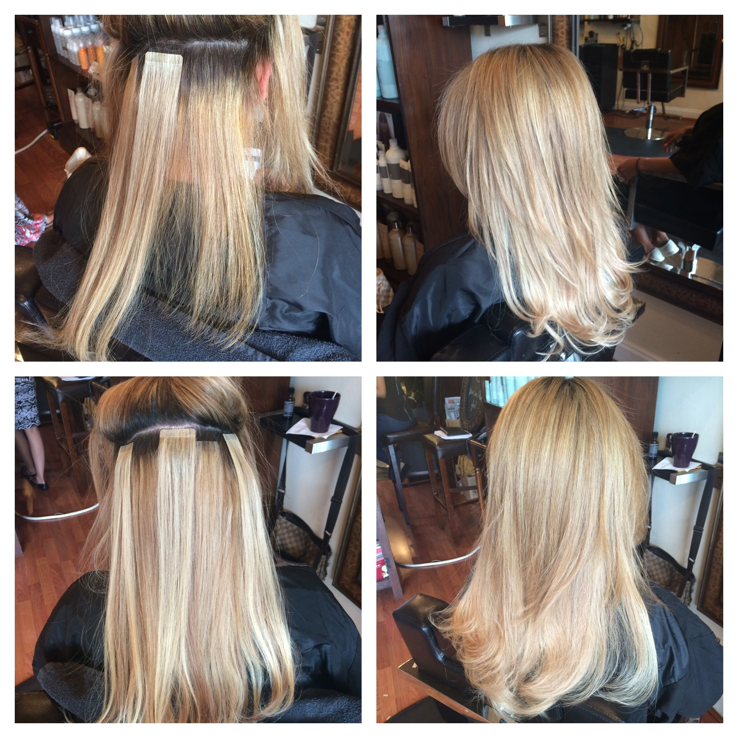 Hotheads Hair Extension Gentlemen Prefer Blonde By Rosvelt