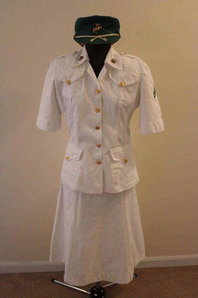 Details About Wwii Usmcwr Marine Corps Womens Reserve