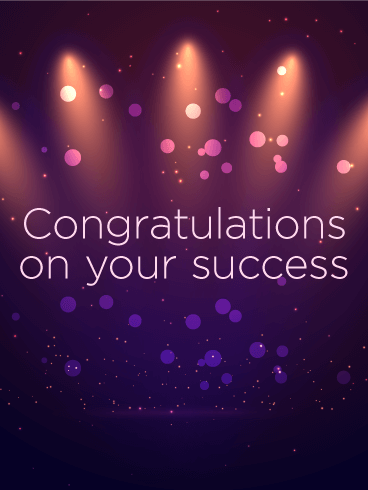Celebrating Your Success Congratulations Card Birthday Greeting Cards By Davia Congratulations Quotes Achievement Congratulations Quotes Congrats Quotes