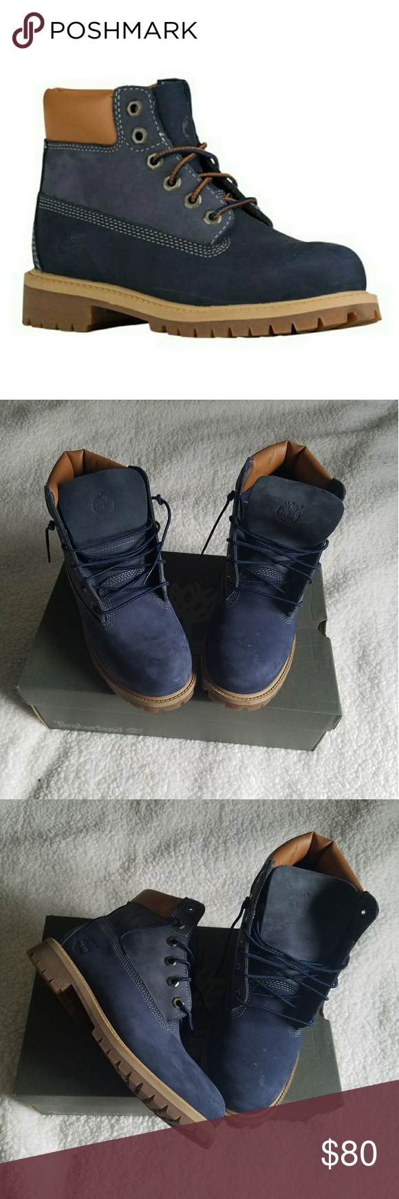 Timberland Boots Big kid size 6.5 which is equivalent to a women's size 8  or 8.5