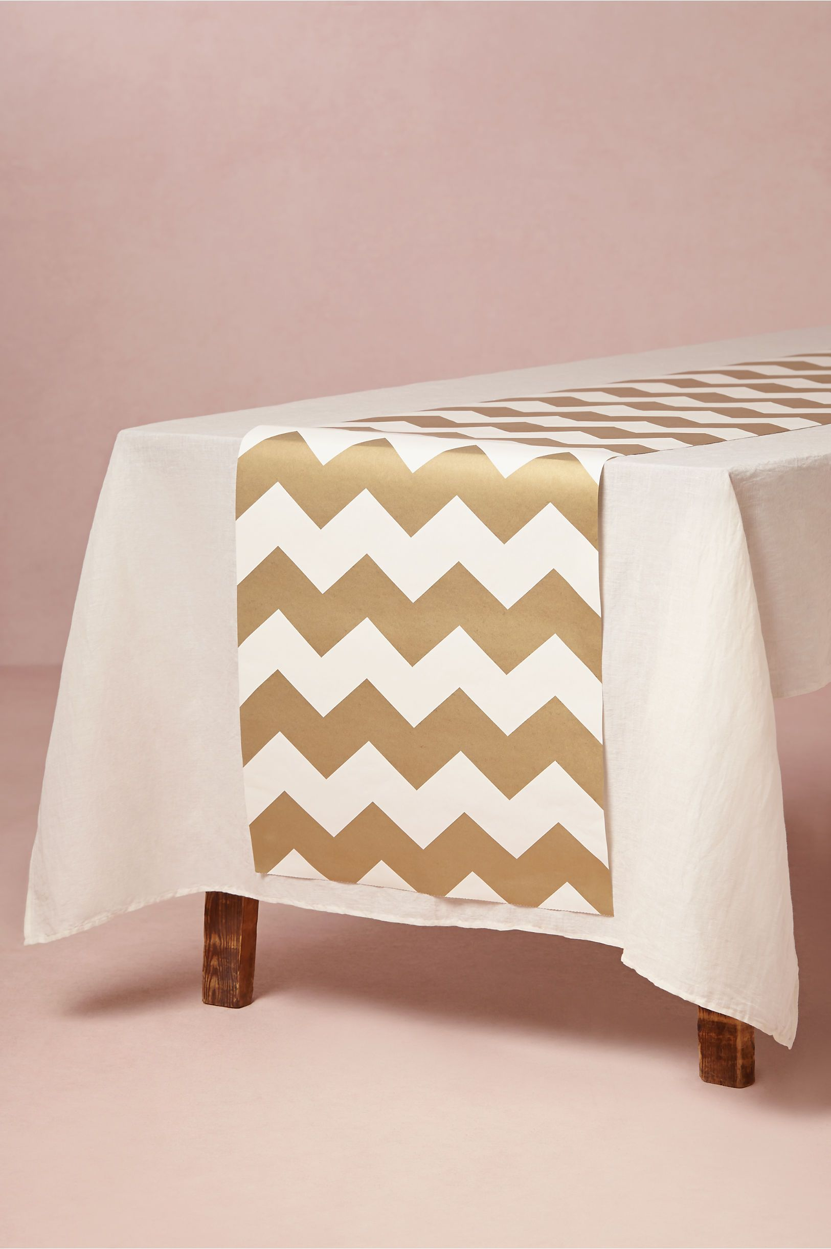 Chevron Table Runners   Like The Ones We Featured In Todayu0027s Real Wedding:  Http: