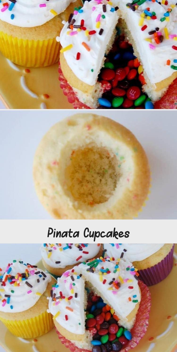 Photo of Diese Pinata Cupcakes sind eine lustige Dessertidee, die Ihre Gäste lieben werd…