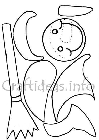 Snowman Template 2 400 Christmas crafts Pinterest Snowman