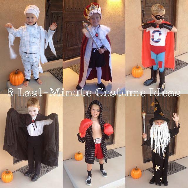 6 Last Minute Halloween Costume Ideas For Boys