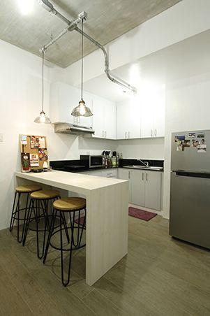 A 38sqm Minimalist Industrial Condo Unit Condo Interior Design
