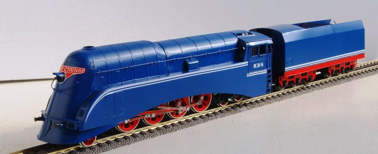 Is20 16 Streamliner By Russian Custom Train Brass Model