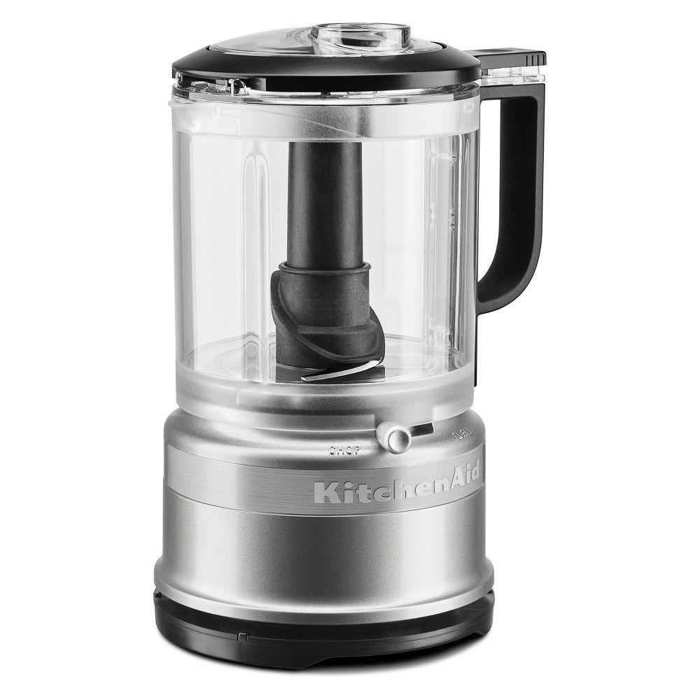 Kitchenaid 5 cup food chopper contour silver kfc0516cu