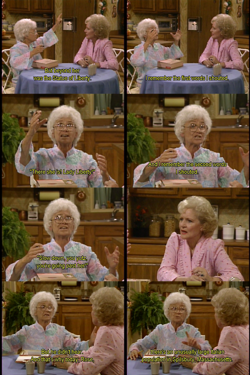 The Golden Girls hahahaha! LORI RENN!!!