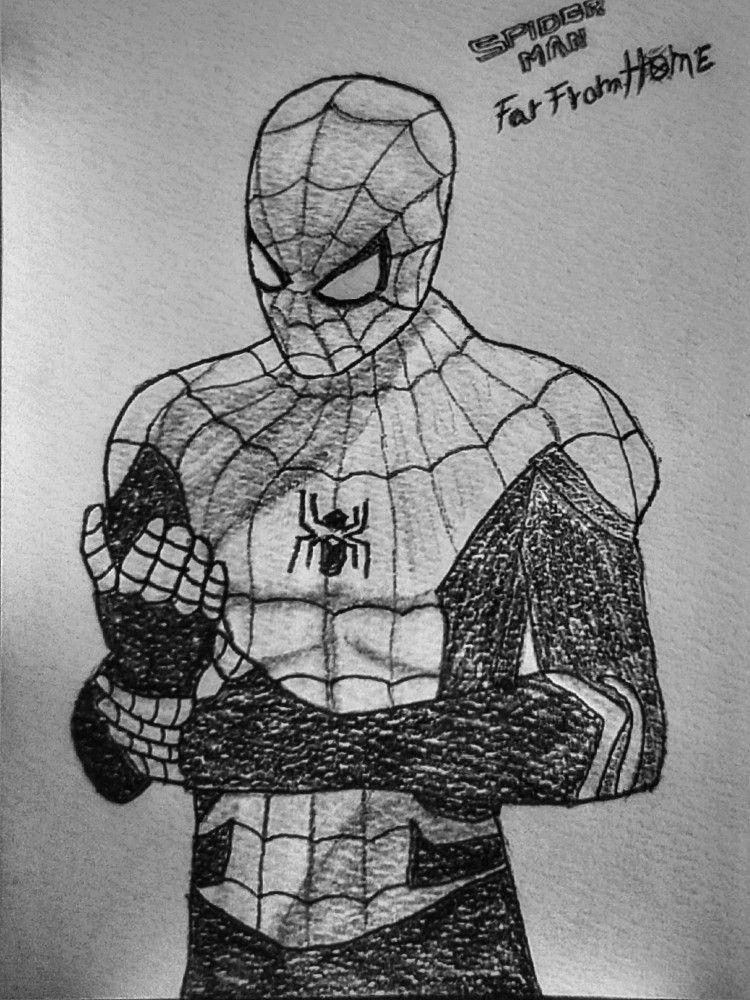 Spiderman Far From Home Susse Tiere Zeichnen Zeichnungen Zeichnung Ideen Bleistift