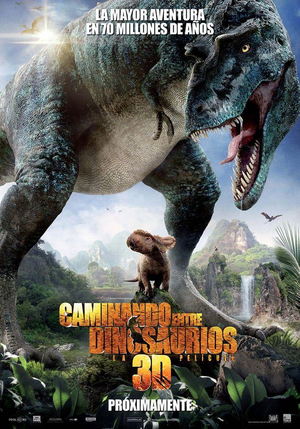 Poster Y Trailer De Caminando Entre Dinosaurios 3d Walking With Dinosaurs Dinosaur Movie Dinosaur