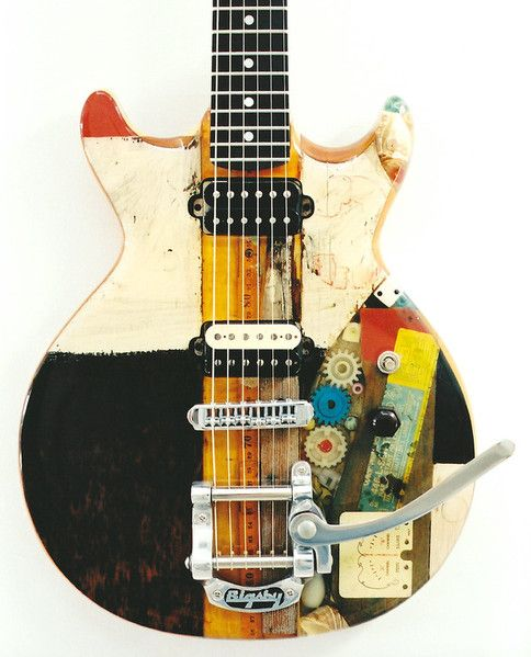 2000 'Measure of All Things'- Spalt Instruments. One of the main guitars for Jared Meeker (look him up on Youtube!).