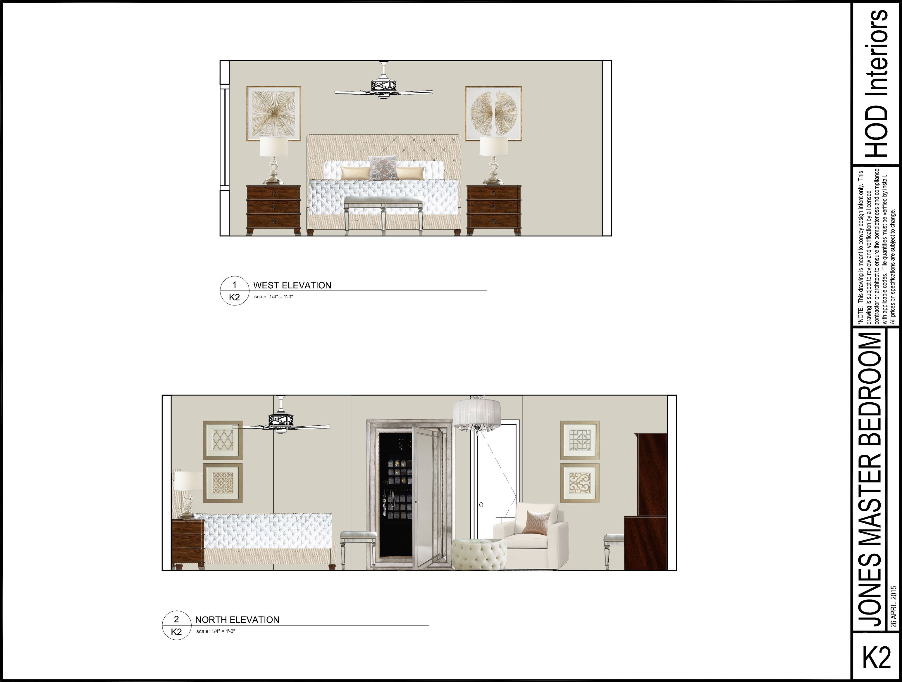 Photoshop Elevation Laura Jones Design Service Bedroom In 2019