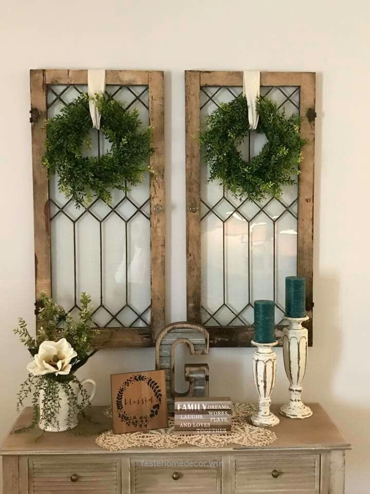 """Splendid Use these as """"shutters"""" beside my mirrored window!!  I love it!  The post  Use these as """"shutters"""" beside my mirrored window!!  I love it!…  appeared first on  Feste Home Decor ."""