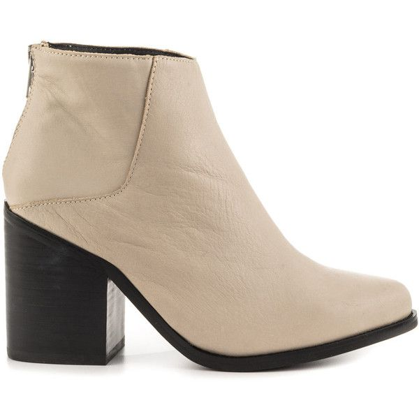 Sol Sana Women's Leo Boot - Dove Grey ($185) ❤ liked on Polyvore featuring