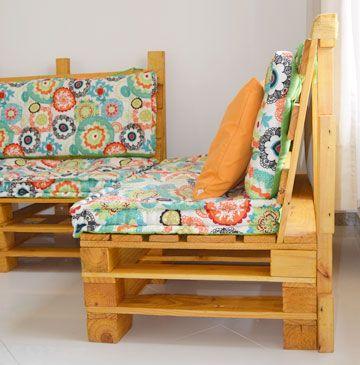 Sofa De Pallet Aprenda A Fazer Artesanato Com Paletes Com