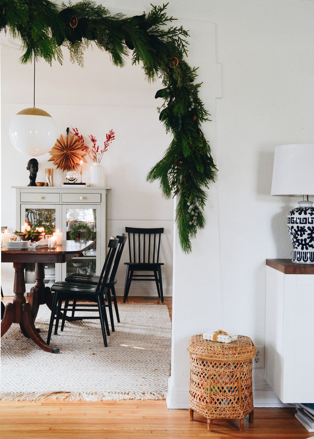 This NordicInspired Holiday Decor Will Make Your Eyes