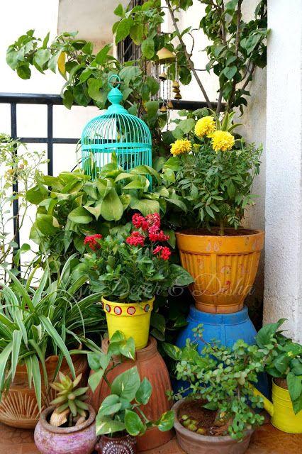 Bird Cage Styling Small Balcony Garden Apartment Garden Patio