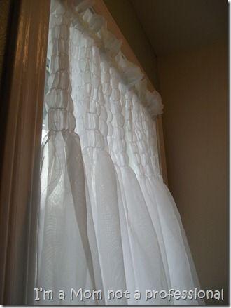 Shirred Curtain How To Curtains No Sew Curtains Cute Curtains