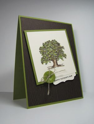 nice people STAMP!: Lovely As a Tree for Father's Day