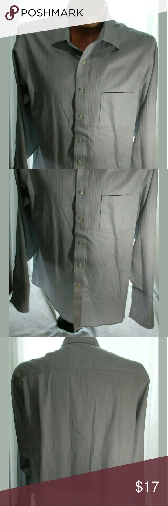 Donald Trump French Cuff Shirt 16 1/2 34/35 Good condition. No holes or stains. Donald J. Trump Shirts Dress Shirts
