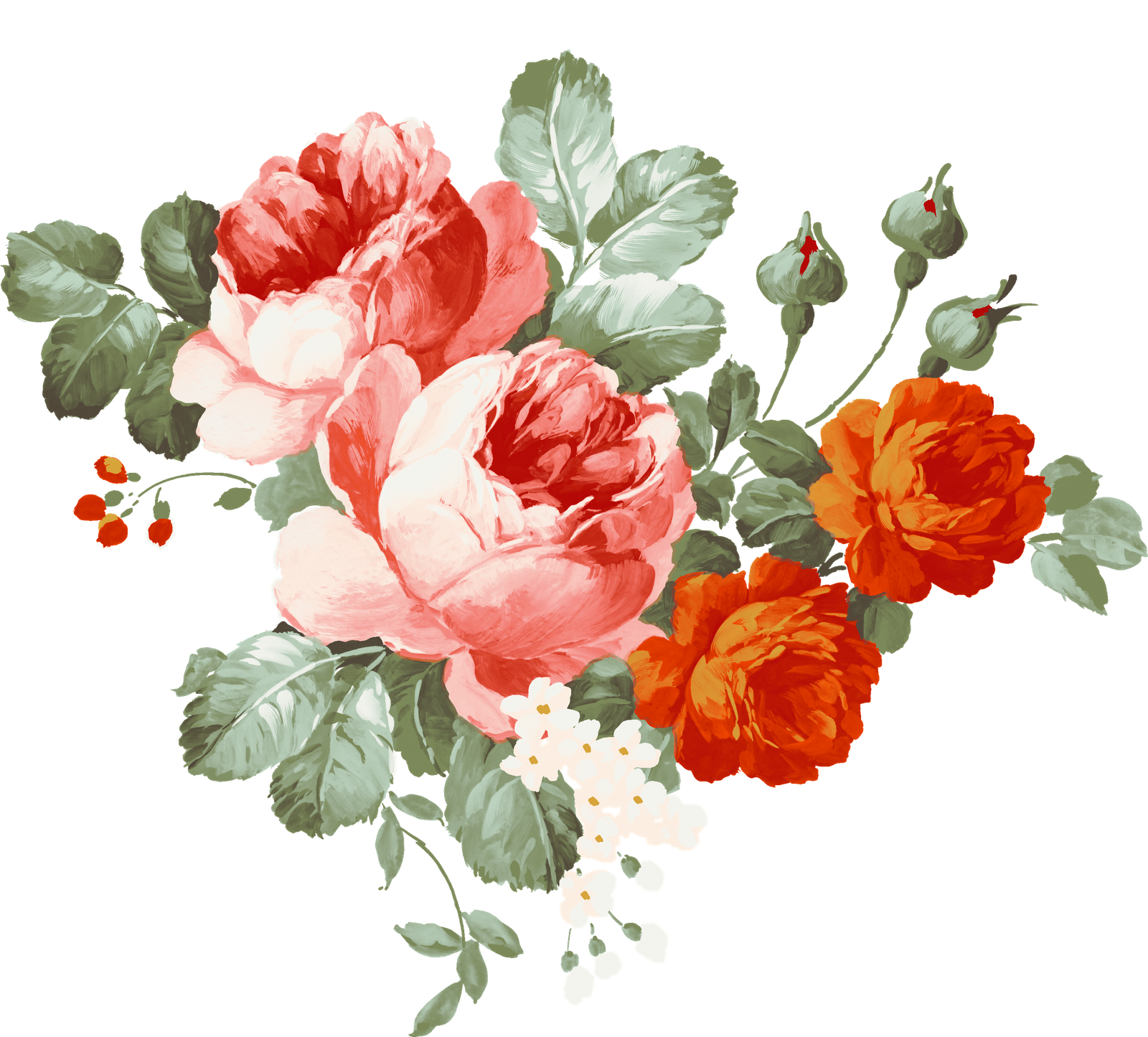 Watercolor Flowers Png Vector Psd And Clipart With: Image Result For Hand Painting Flowers