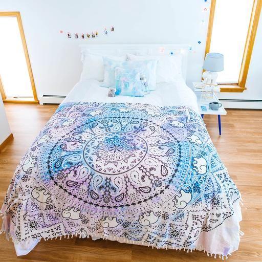 df4eb69d102153 Mandala Wall Tapestry