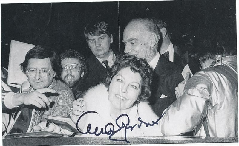 Ava Gardner- Signed Book Stock Photograph