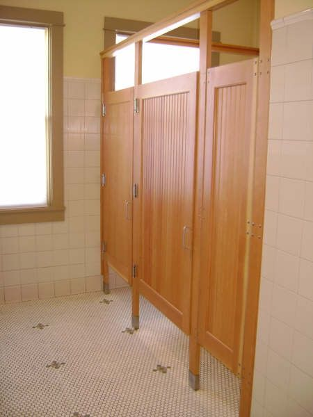 hand crafted commercial bathroom stall doors by lacey door rh pinterest com