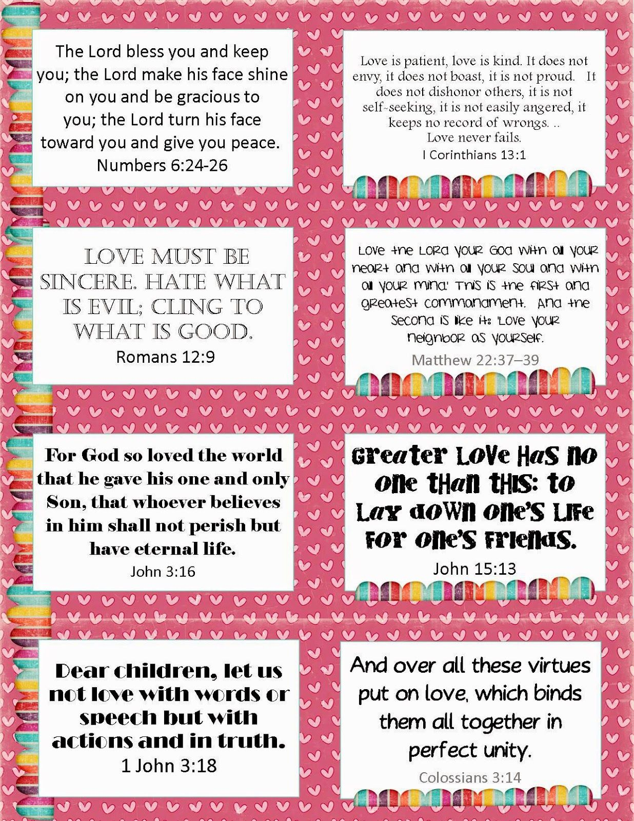 It is a picture of Amazing Free Printable Scripture Cards