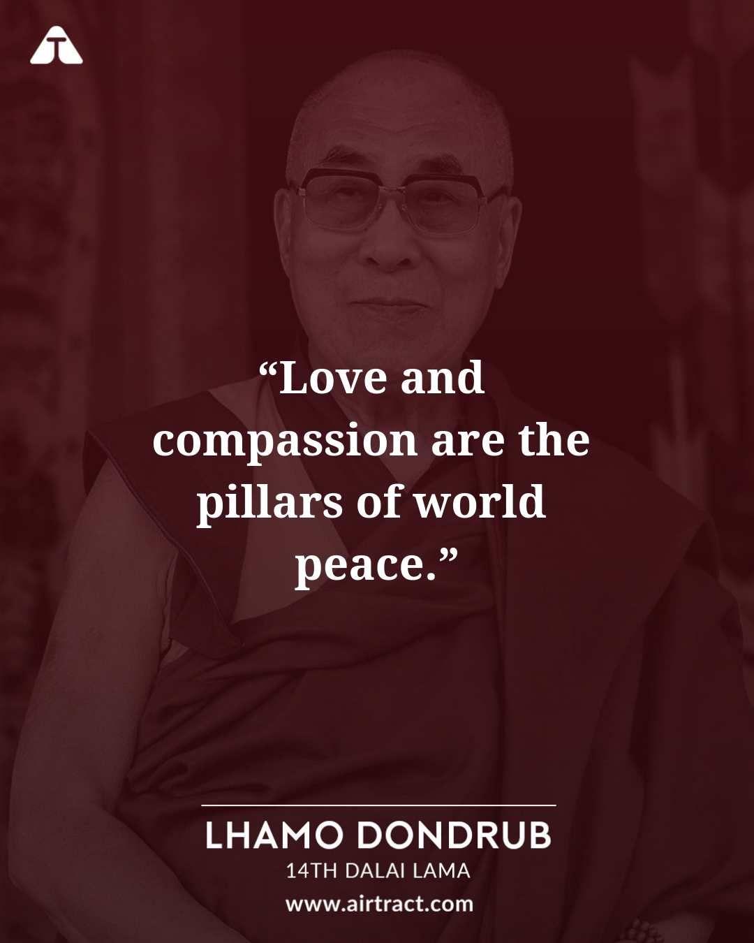 Dalai Lama World Peace Quotes