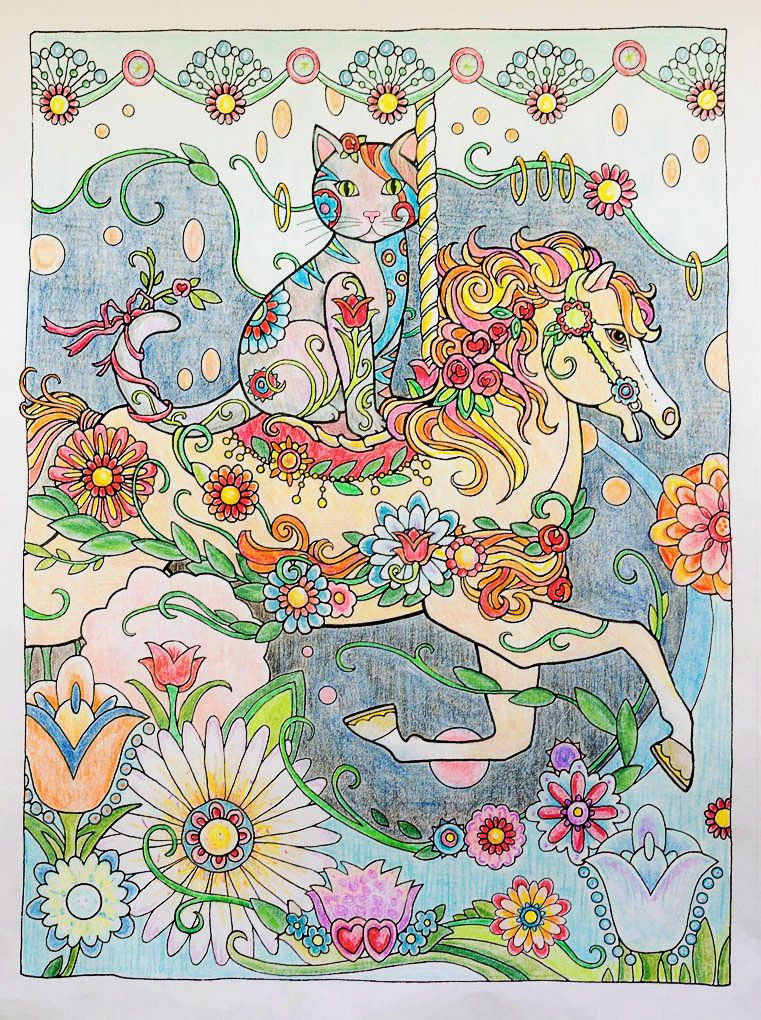 Creative Cats And Dogs Coloring Book