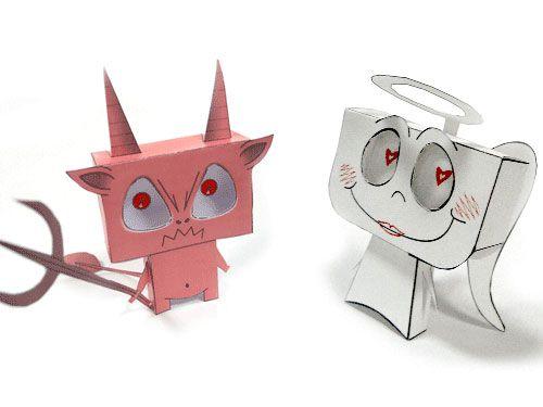 Personajes Dibujos Y Cómics | Descargables Gratis para Imprimir: Paper toys, diseño, Origami, tarjetas de Cumpleaños, Maquetas, Manualidades, decoraciones fiestas y bodas, dibujos para colorear, tutoriales. Printable Freebies, paper and crafts, diy