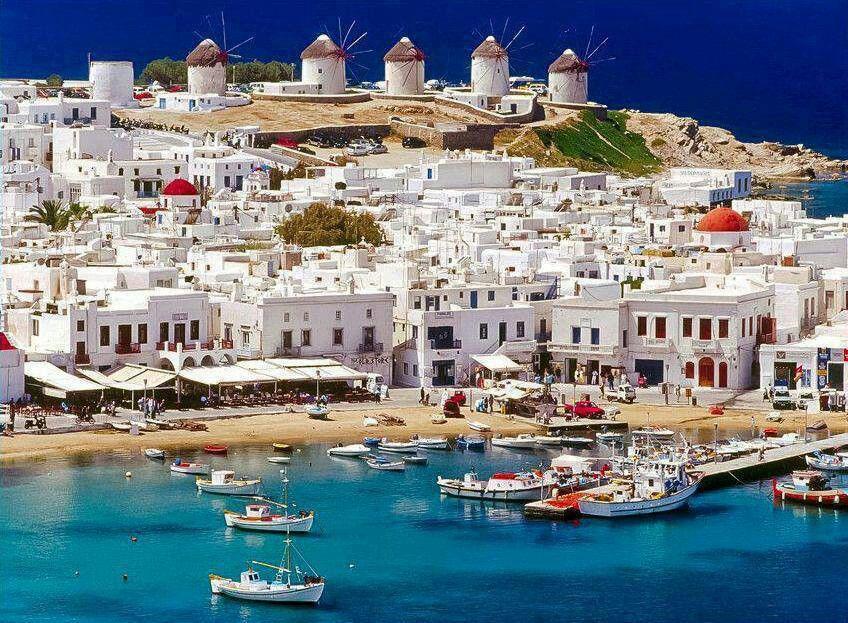 One of my favorite Greek Islands, Mykonos