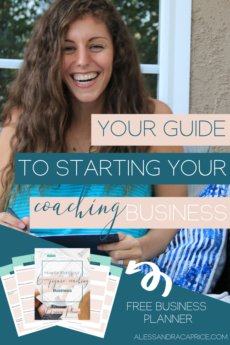 Free Business Planner for Coaches #lifecoachingtools